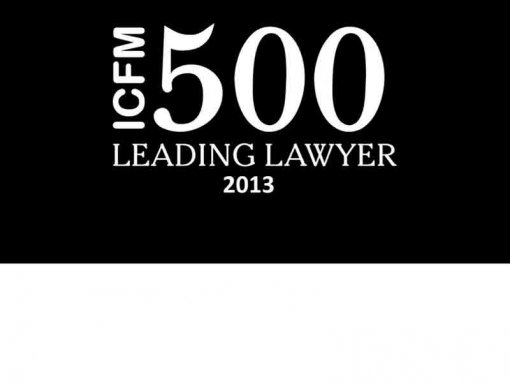 ICFM Leading Lawyer