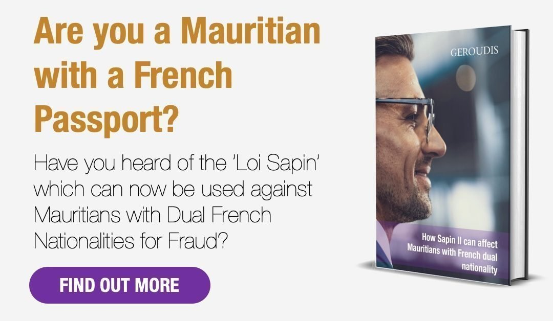 How Sapin II can affect Mauritians with French dual nationality
